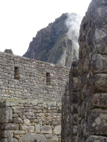 Looking back at Waynu Picchu.